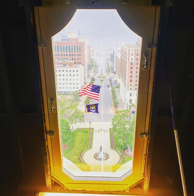 Michigan State Capitol stock photo