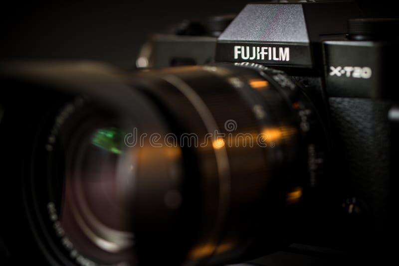 Fujifilm X-T20 mirrorless digital camera royalty free stock image