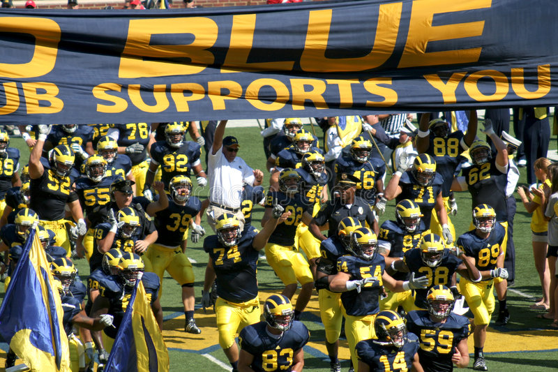 Download Michigan Wolverines editorial photo. Image of university - 6779916