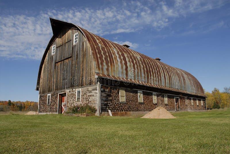 Michigans größter corwood Stall lizenzfreies stockfoto