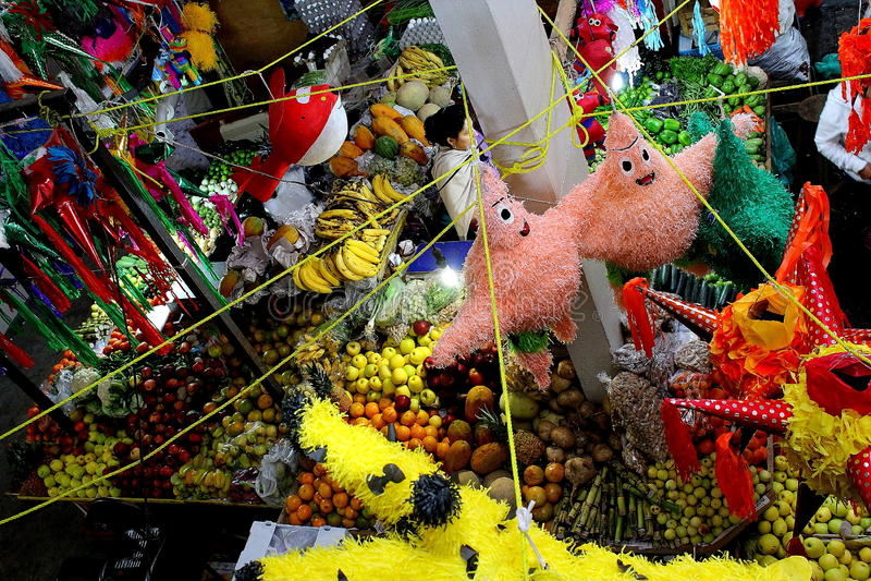 Michoacan meksykanina rynek obraz royalty free