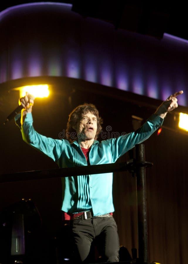 Mick Jagger imagen de archivo libre de regalías