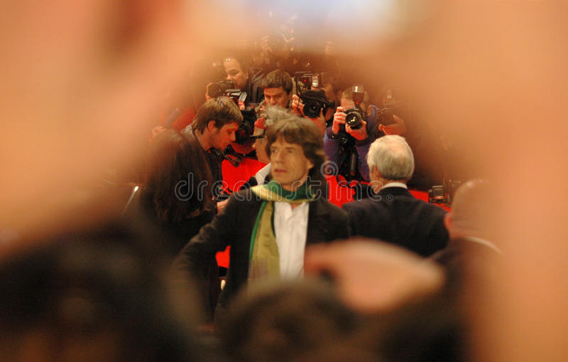 Mick Jagger stockbilder