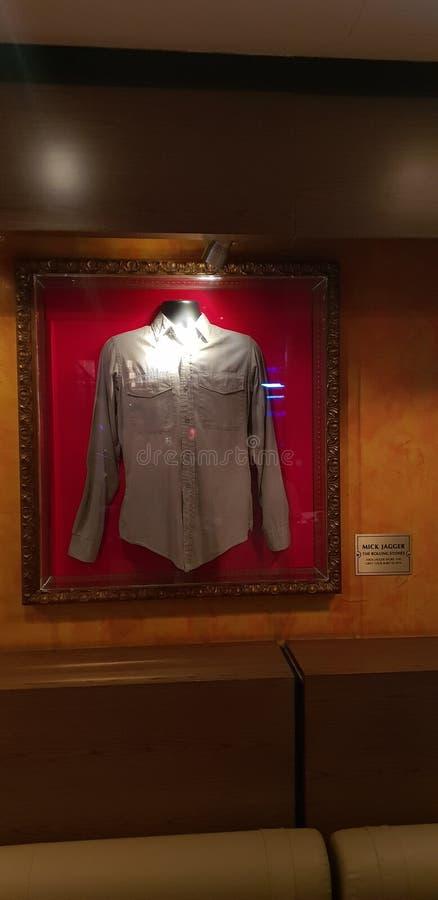 Mick Jagger-jasje stock foto