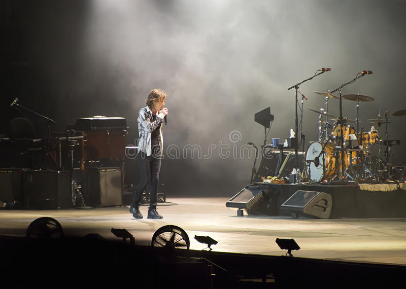 Download Jagger At The Rolling Stones Concert, Rome, Italy - June 22nd 2014 Editorial Image - Image: 41860290