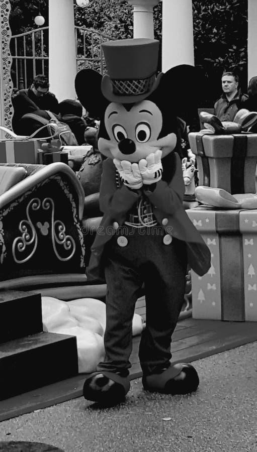 Mickey爱我的工作 免版税库存照片