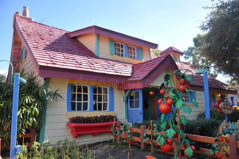 Mickey的乡间别墅,迪斯尼世界奥兰多 库存照片