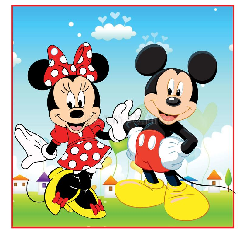 Free Mickey And Minnie Mouse Stock Photos - 164632863