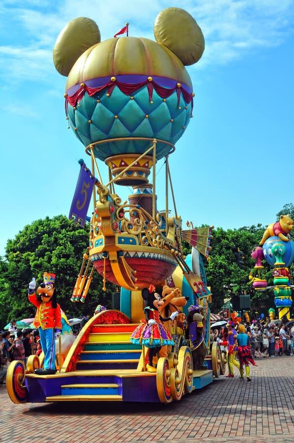 Download Mickey Balloon Cart On Disney Parade Editorial Image - Image: 19667305
