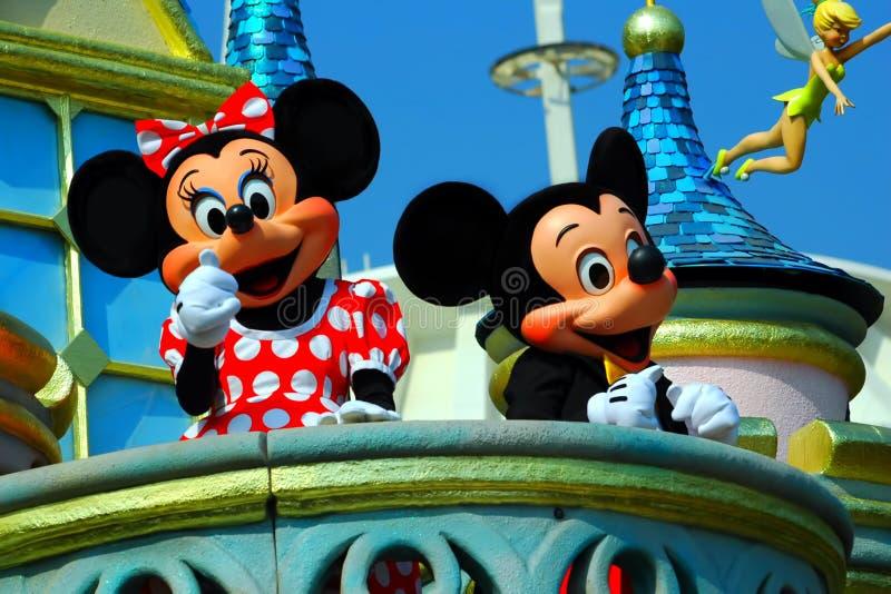 Mickey et souris de minnie photos stock