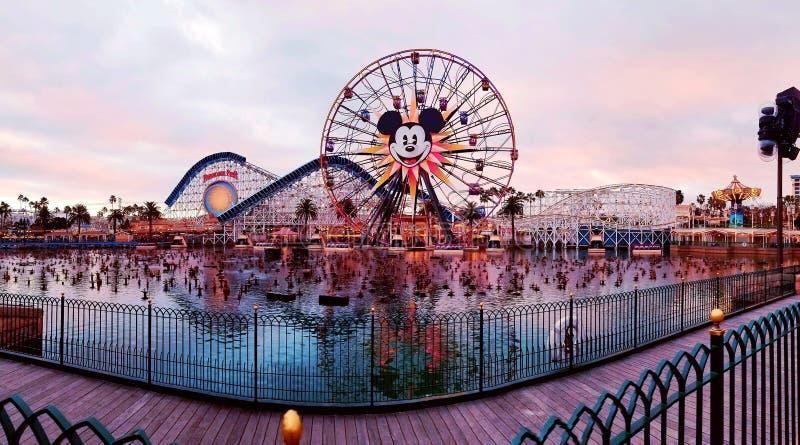 Mickey Ferris Wheel fotos de stock