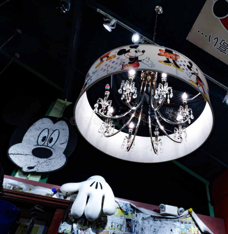 Mickey Light arkivbild