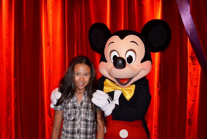 Mickey Mouse στοκ φωτογραφία με δικαίωμα ελεύθερης χρήσης