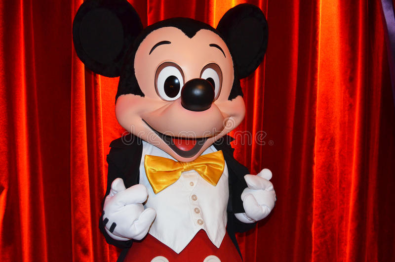 Mickey Mouse obrazy stock