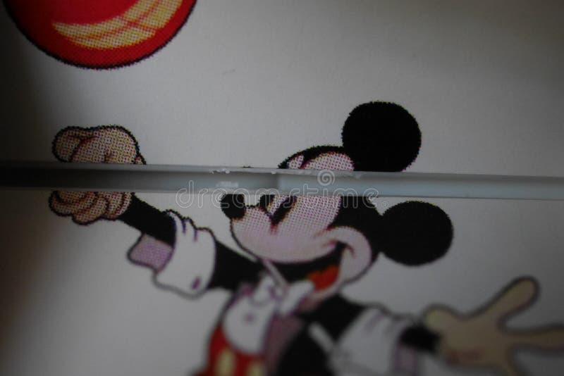 Mickey Mouse Christmas Tree Ornament - Walt Disney Company arkivfoto