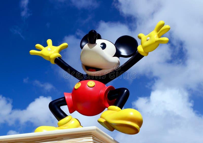 Figura de Disney do rato de Mickey fotos de stock