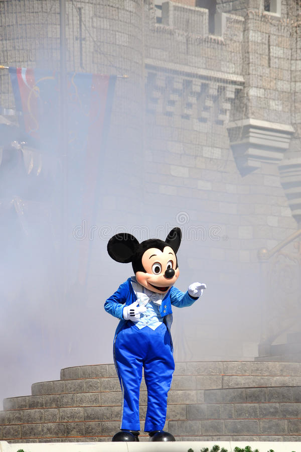 Mickey Mouse in Disney World stock photo
