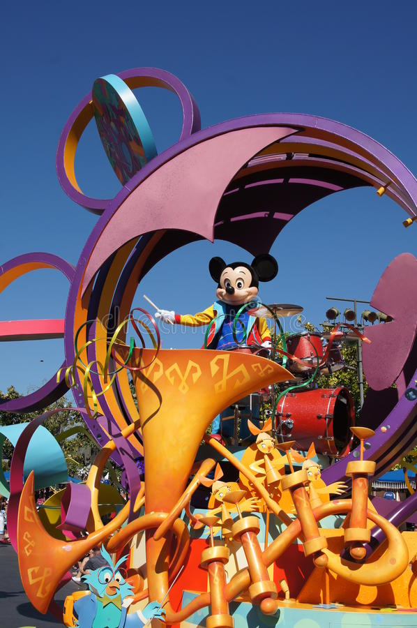 Mickey Mouse at Disneyland stock photography
