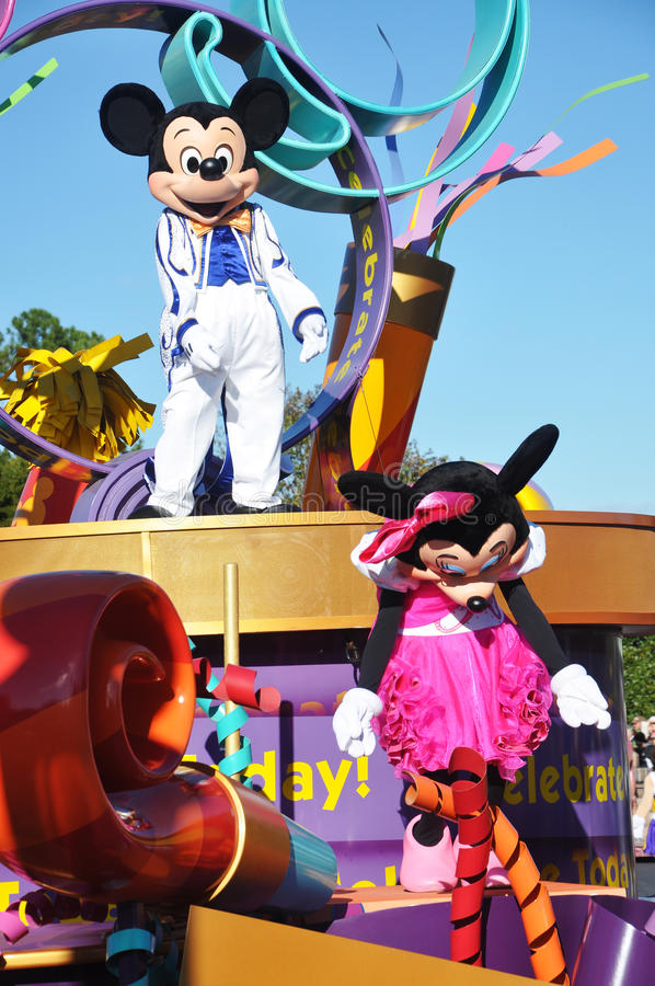Download Mickey Mouse In A Dream Come True Celebrate Parade Editorial Stock Photo - Image: 23114703