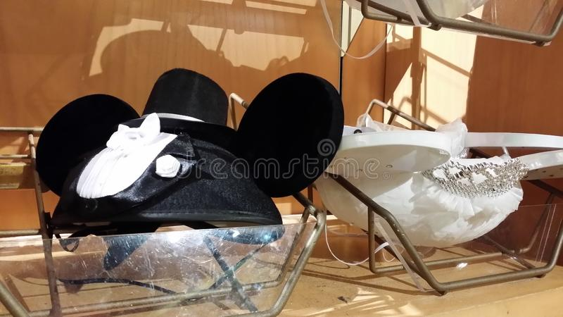 Mickey Mouse Fashionable Pink Bag stock photo