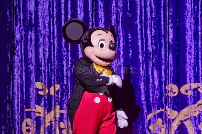 Mickey Mouse no Tux imagens de stock royalty free