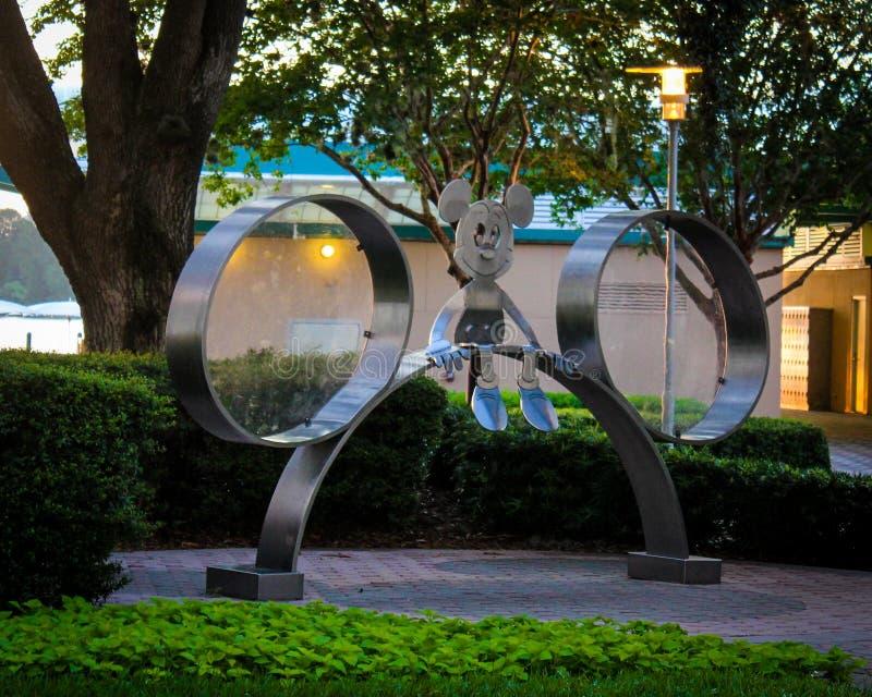 Mickey Mouse Statue, località di soggiorno del contemporaneo di Disneys immagini stock