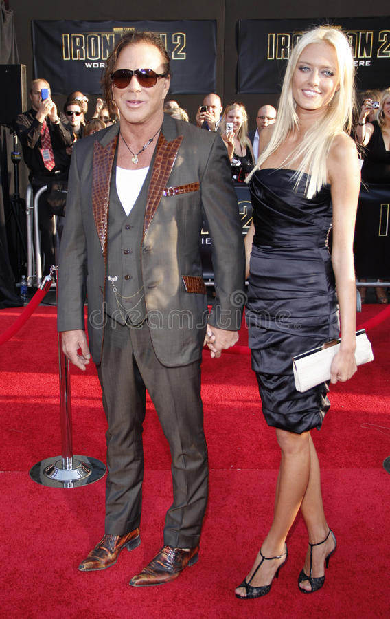 Mickey Rourke And Anastassija Makarenko Editorial Image Image Of Event Redcarpet 56719375 The actor, 66, and russian model, 32, beamed as they took part in a joint interview, and mickey even. mickey rourke and anastassija makarenko