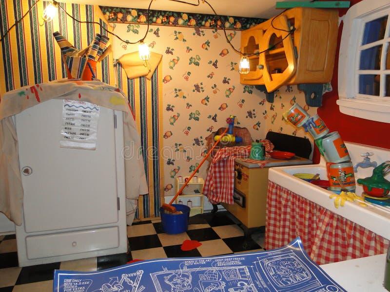 Mickey's kitchen in Disneyworld stock photo