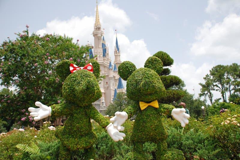 Mickey und Minnie Mouse lizenzfreie stockfotos