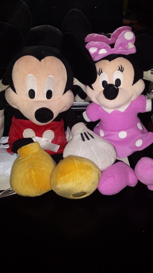 Mickey y Minnie imagen de archivo libre de regalías