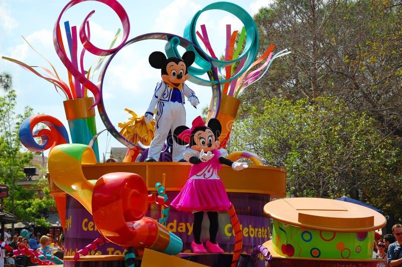Mickey y Minnie Mouse fotos de archivo