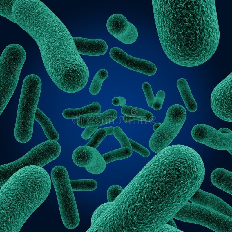 Micróbios ilustração stock