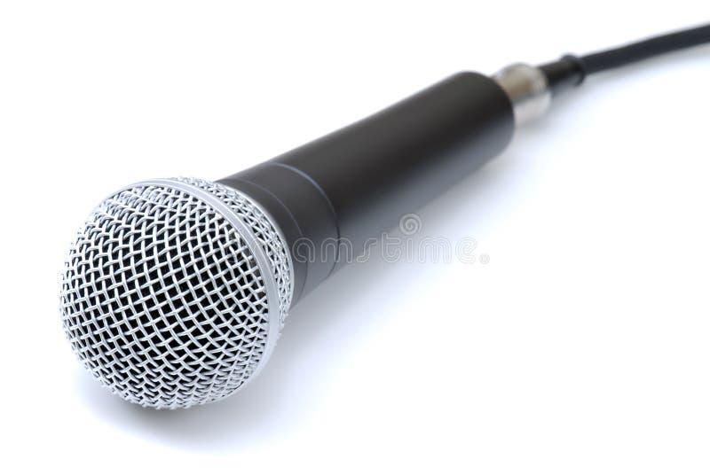 Micrófono foto de archivo