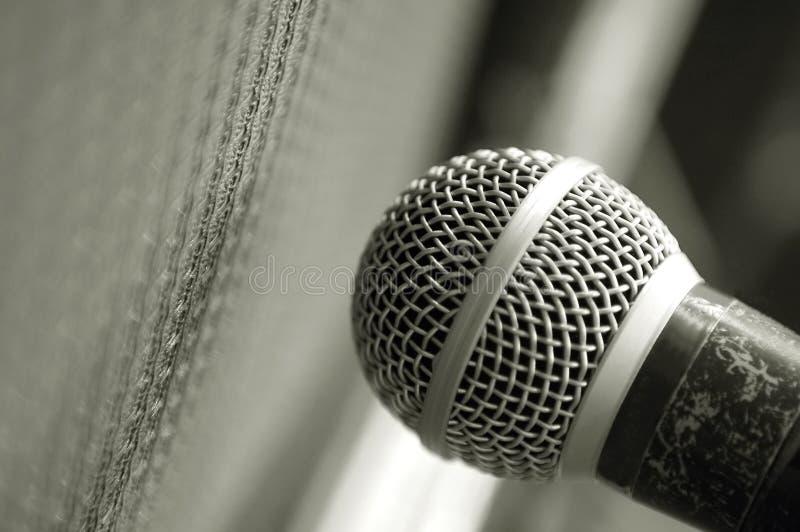 Micrófono fotos de archivo