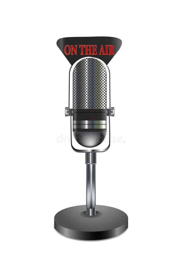 Micrófono aislado libre illustration