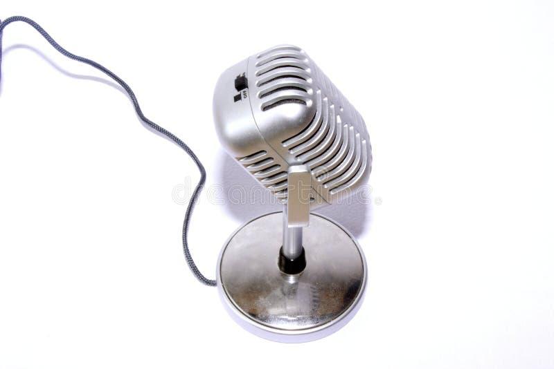 Micrófono de cinta imágenes de archivo libres de regalías