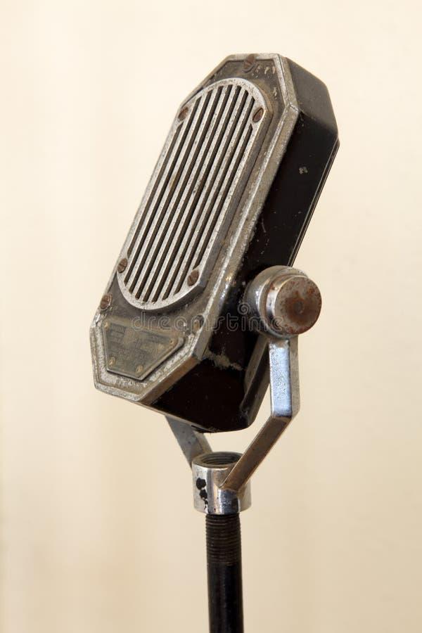 Micrófono de la vendimia fotografía de archivo libre de regalías
