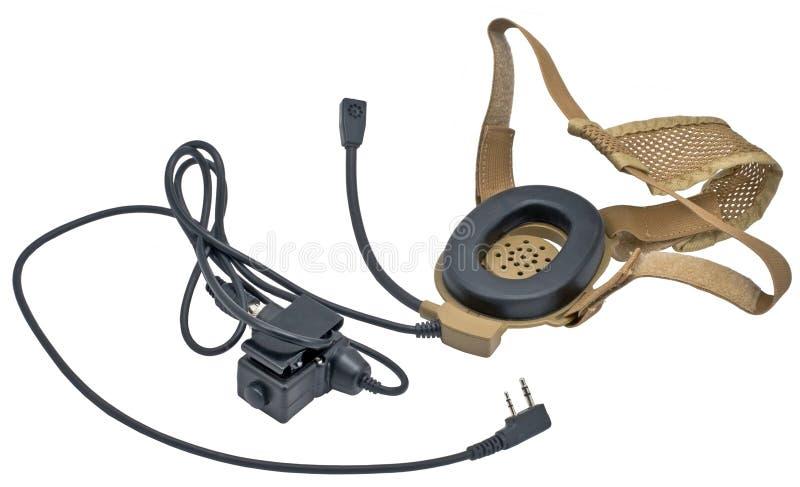 Micrófono de radio imagen de archivo libre de regalías