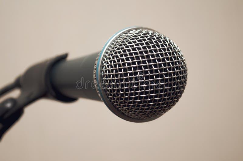 Micrófono dinámico fotos de archivo libres de regalías
