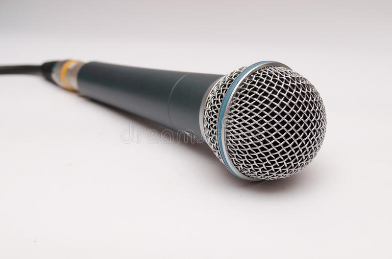Micrófono dinámico fotos de archivo