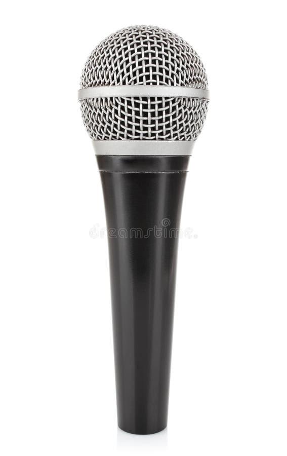 Micrófono metálico negro