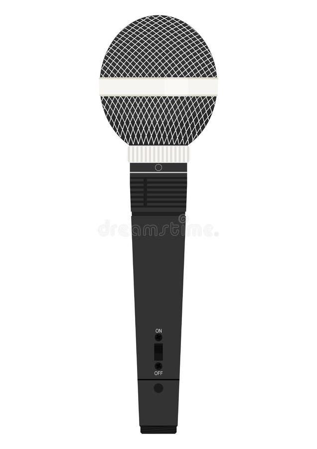 Micrófono Vector plano libre illustration