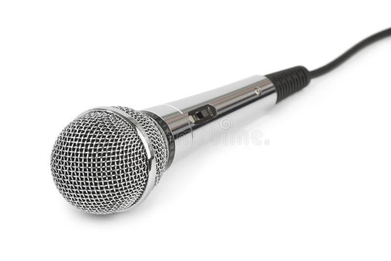 Micrófono y cable imagenes de archivo
