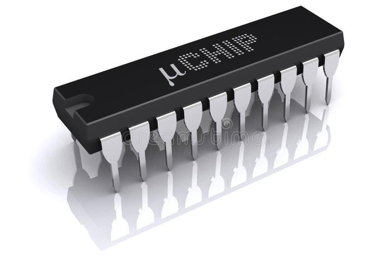 Micro chip royalty free stock photos