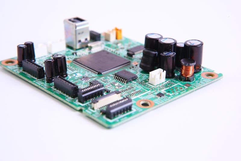 micro circuito del computer immagine stock