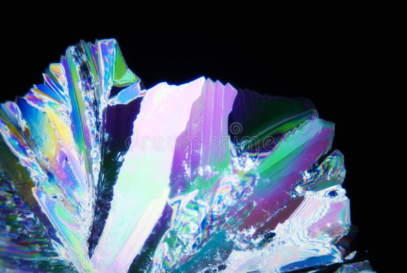 Micro cristalli immagini stock libere da diritti