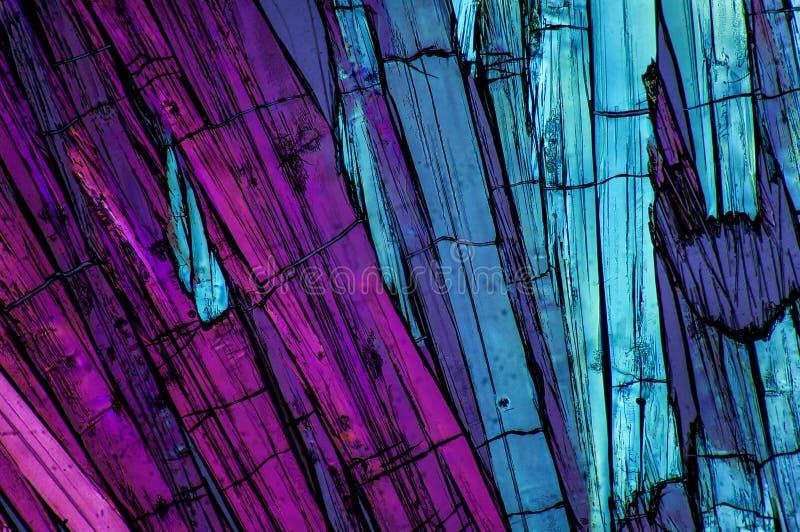 Micro- Kristallen 7 stock fotografie