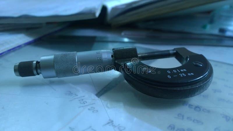 Micro medidor imagens de stock