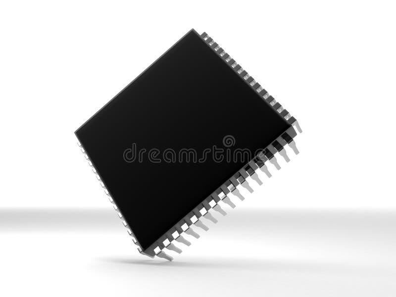 Micro- spaander vector illustratie