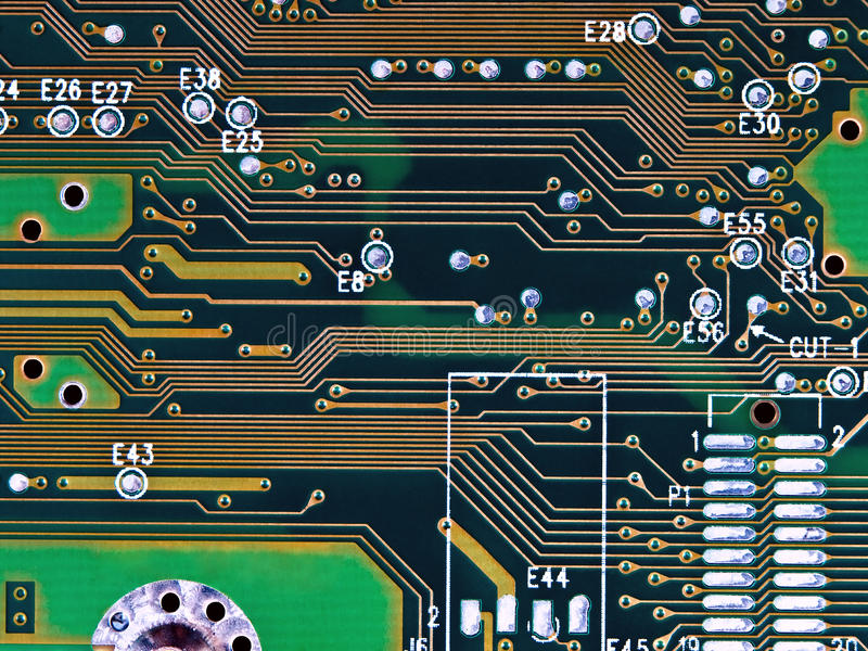Micro tecnologia imagem de stock